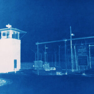 Image of the guard tower at Mississippi state penitentiary
