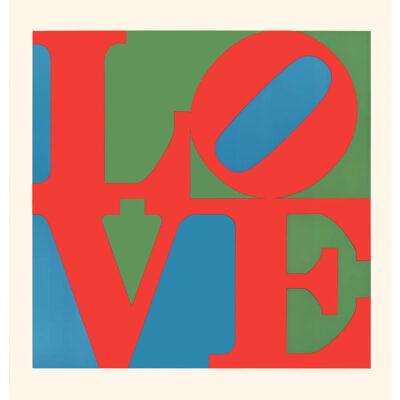 "Planar editions print - ""LOVE (neue graphik) 1968"" by Robert Indiana (£50)"