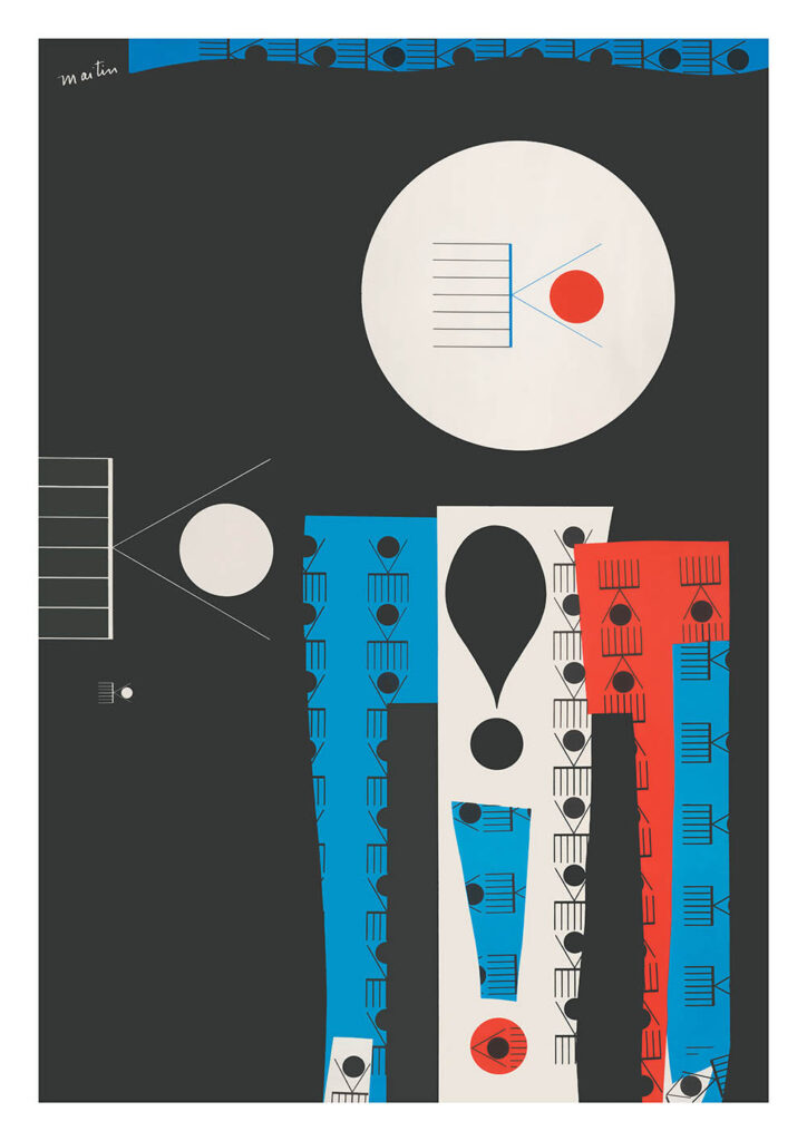 "Planar editions print - ""Internal / External"" by Sam Maitin (£75)"