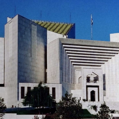 Twitter image of Pakistan's top court