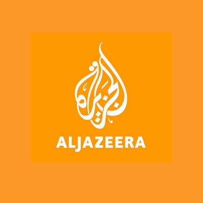 Press logo for Al Jazeera