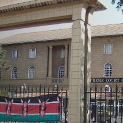 Image of the Kenyan Supreme Court, taken by the World Coalition Against the Death Penalty