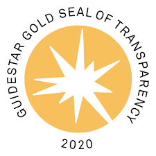 Logo showing that we have received the Guidestar seal of transparency in 2020