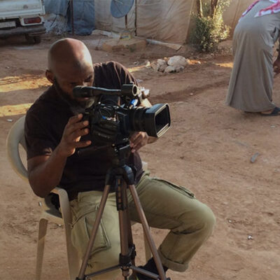 Meta image of Bilal Abdul Kareen working in Syria