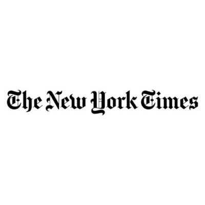 Twitter image of the New York Times logo